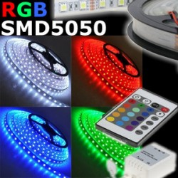 STRISCIA LED RGB 5050, 5MT