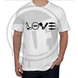 T-shirt AUDI LOVE