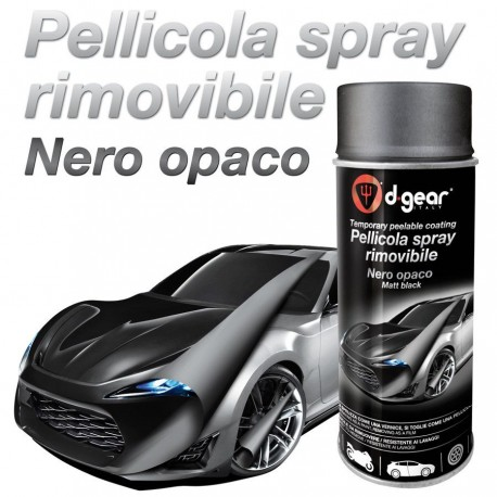VERNICE SPRAY NERO OPACO