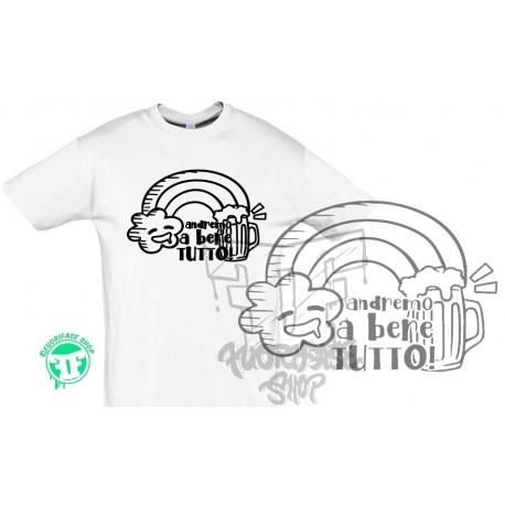 T-shirt ANDIAMO A BERE TUTTO